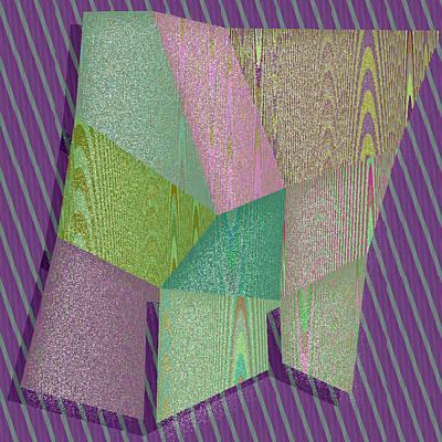 Squares Digital Art - Bakersfield by Gareth Lewis
