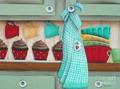 Baking Day Original by Catherine Holman