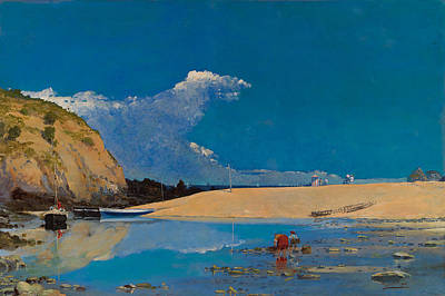Artistic Painting - Bakio Beach by Celestial Images