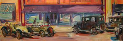 Ts Painting - Bakotown Cars by Gita Lloyd