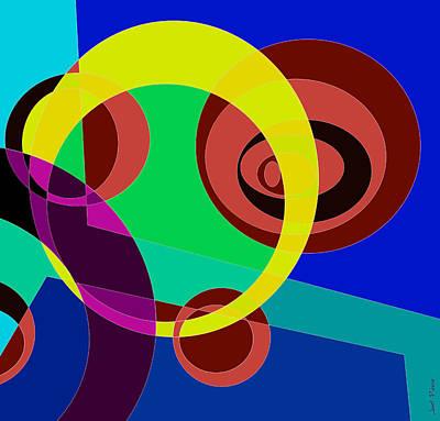 Rhythm And Blues Digital Art - Balance 0020 by Sir Josef - Social Critic - ART
