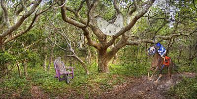 Jockey Digital Art - Balancing Time by Betsy C Knapp