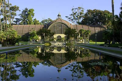 Balboa Park Botanical Building - San Diego California Print by Ram Vasudev