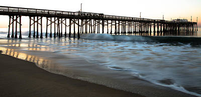 Sand Photograph - Balboa Pier  by John Daly