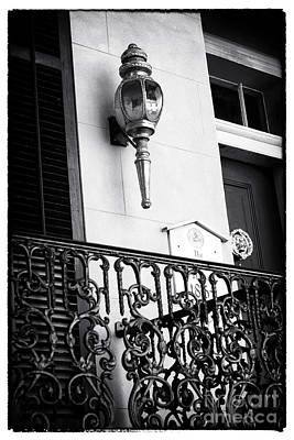 Balcony Light Print by John Rizzuto