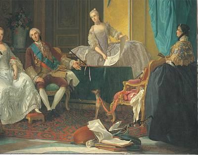 Baldrighi Giuseppe, The Family Of Don Print by Everett