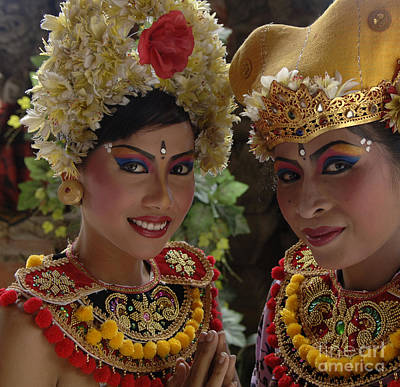 Bali Beauties Print by Bob Christopher