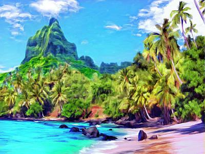 Mauna Kea Painting - Bali Hai by Dominic Piperata
