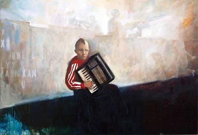 Ts Painting - Balkan by Eugen Varzic