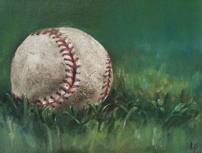 Ball Number One Original by Lindsay Frost