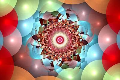 Amusements Mixed Media - Ball Pit Universe by Anastasiya Malakhova