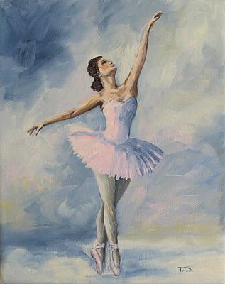Ballet Painting - Ballerina 001 by Torrie Smiley