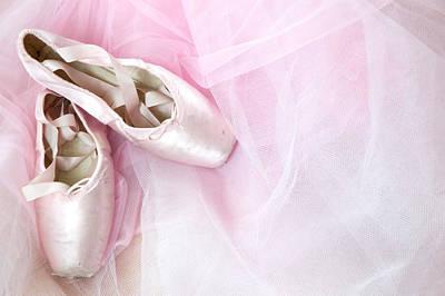 Ballerina Dreams Print by Zina Zinchik