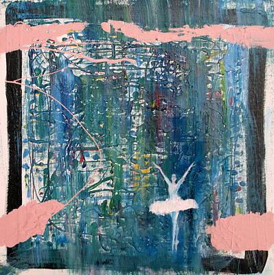 Ballet Painting - Ballerina by Fabrizio Cassetta