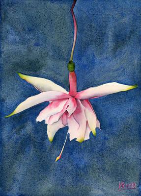 Ballerina Flower Original by Ken Powers