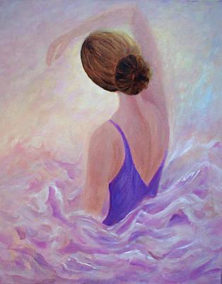 Ballet Painting - Ballerina by Joanne Smoley