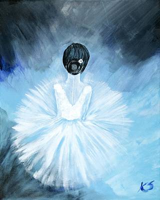 Ballerina Original by Katy  Scott