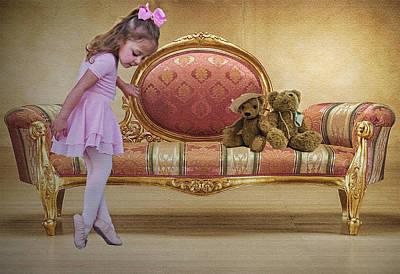 Ballerina Print by Sharon Lisa Clarke