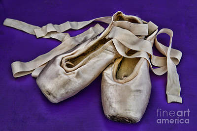 Dance Studio Photograph - Ballerina Slippers by Paul Ward