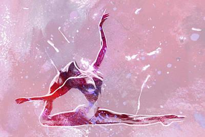 Ballet Art Print by Steve K