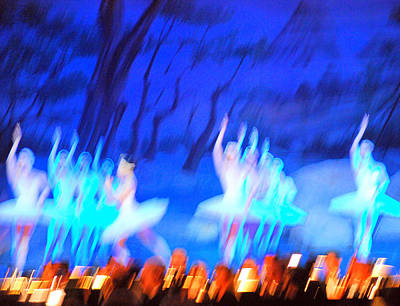 Ballet Dancers Abstract. Print by Oscar Williams