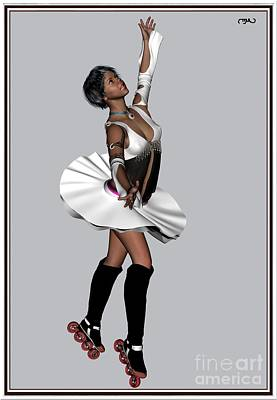 Ballet On Skates 4bos1 Print by Pemaro