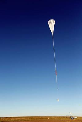 Balloon Rapid Response For Ison Launch Print by Nasa/jhuapl
