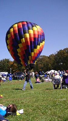 Balloon Rides Print by Lee Hartsell