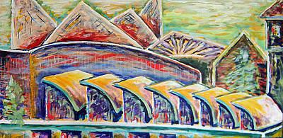 Ballpark View Original by Gregory Otvos