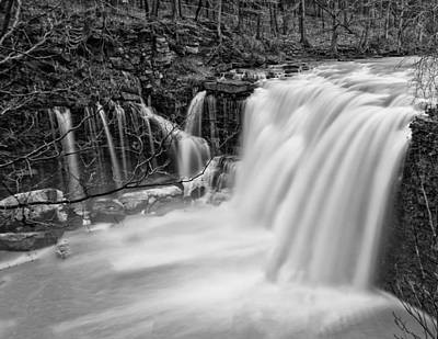 Black And White Photograph - Balls Falls Ontario by Chris McPhee