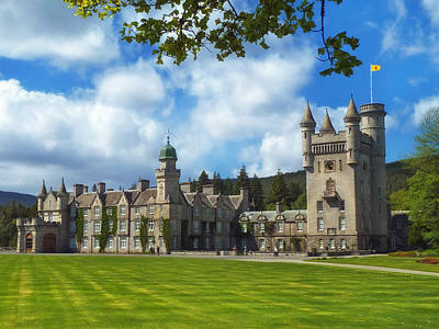 Balmoral Castle In Scotland Print by Mountain Dreams