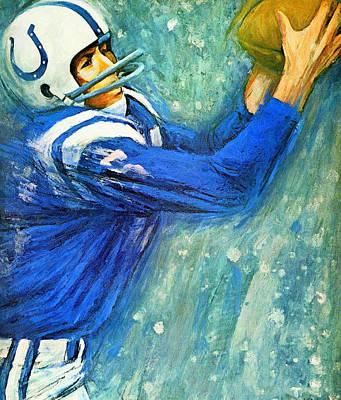 Baltimore Colts 1966 Vintage Print Print by Big 88 Artworks