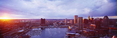 Baltimore Maryland Usa Print by Panoramic Images