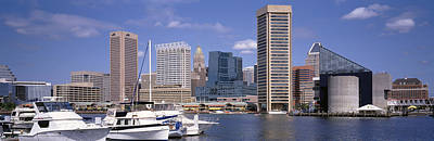 Baltimore Md Usa Print by Panoramic Images