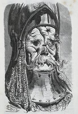 Balzac, Honor� De 1799-1850 Dore, Paul Print by Everett