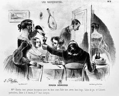 Balzac Le Pere Goriot Print by Granger
