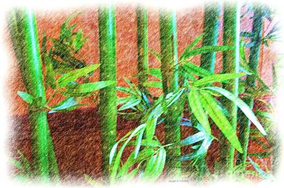 Bamboo #1 Print by Luther   Fine Art
