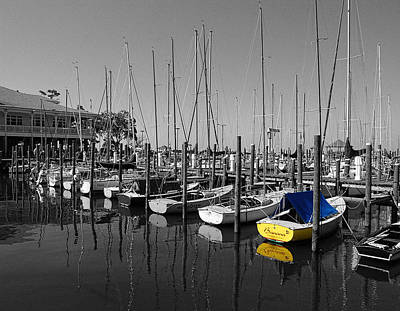 Banana Boat Print by Michael Thomas