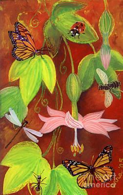 Bananapoka Print by Anna Skaradzinska