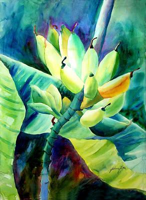 Painting - Bananas 6-12-06 Julianne Felton by Julianne Felton