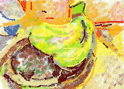 Bananas From Paphos 2 Print by Anita Dale Livaditis