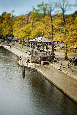 Chester Photograph - Bandstand In Chester by Meirion Matthias