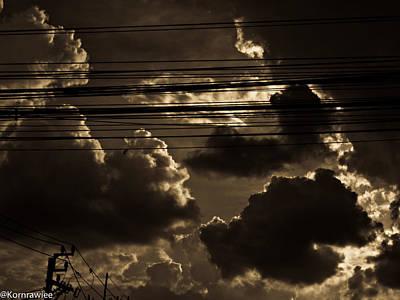 Photograph - Bangkok Sky by Kornrawiee Miu Miu