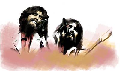 Bangladesh  George Harrison Original by Iconic Images Art Gallery David Pucciarelli