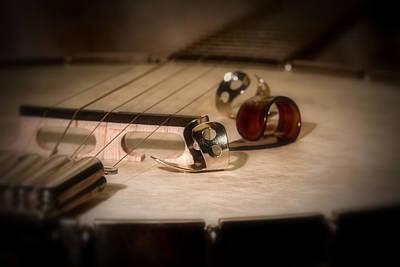 Instrument Photograph - Banjo by Tom Mc Nemar
