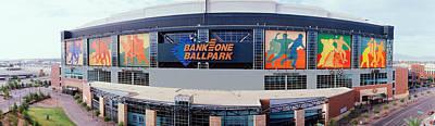 Bank One Ballpark Phoenix Az Print by Panoramic Images