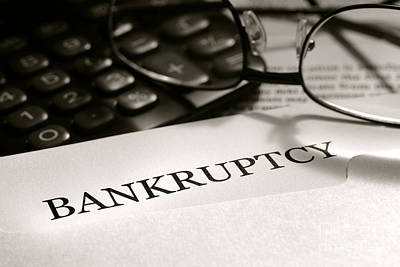 Crisis Photograph - Bankruptcy Notice Letter by Olivier Le Queinec