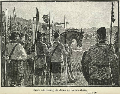 Bannockburn Print by British Library