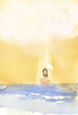 Baptism Print by John Meng-Frecker