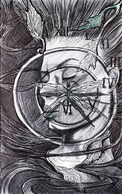 Metaphysical Drawing - Baptize by Kd Neeley